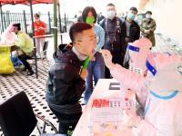 道里区福同社区开展第二次全员核酸检测